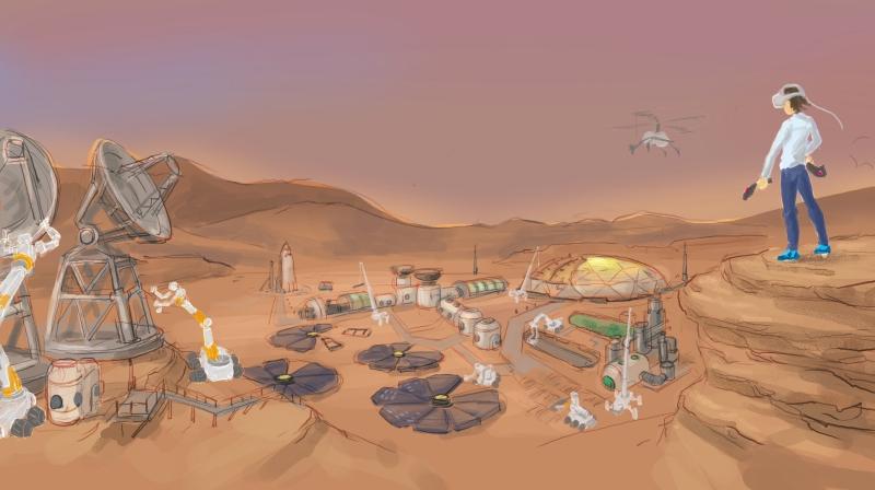 火星ロボット